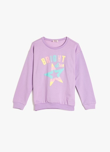 Koton Kids Sweatshirt Lila